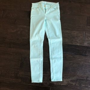 Mint 7 for all mankind SZ 28